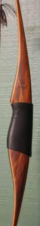 All cocobolo riser with yew limbs and Elk Antler tips