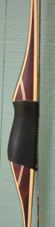 All cocobolo riser with juniper/bamboo limbs